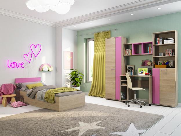 Мебель для комнаты девочки Формула розовая