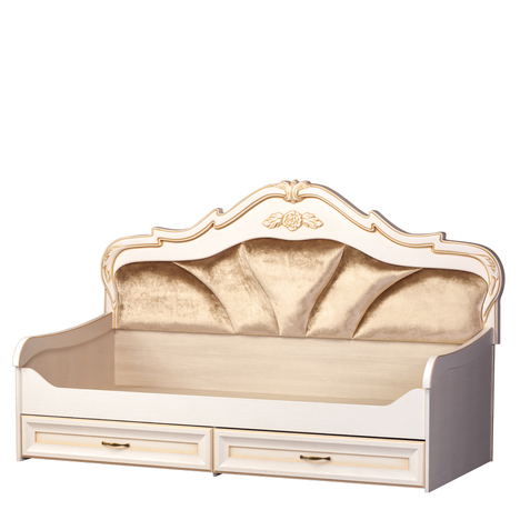 Кровать 1-спальная с ящиками Элли 582