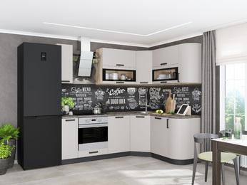 Модульная кухня Контемп слоновая кость