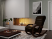 Кресло-качалка венге